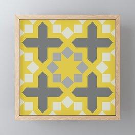 Arabesque Pattern Fifteen Framed Mini Art Print