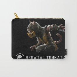 Meowtal Kombat Carry-All Pouch