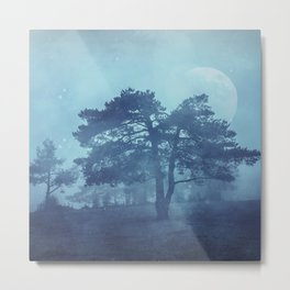 Mystic tree Metal Print
