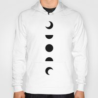 moon phases Hoodies featuring Moon Phases by OHH Baby