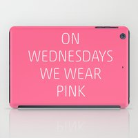 mean girls iPad Cases featuring Mean Girls #8 – Pink by Enyalie