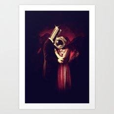 Screw Love Art Print