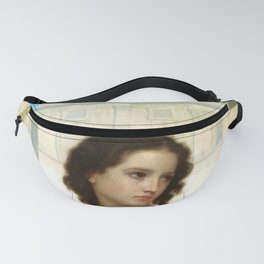 "William-Adolphe Bouguereau ""Far From Home"" Fanny Pack"