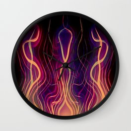 Blacksmith's Forge Wall Clock