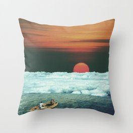Meditation on Saturday Morning Throw Pillow