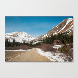 Road To The Cabin Canvas Print