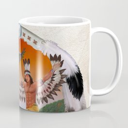 Indian Eagle Dancer Coffee Mug