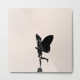 .statue's humanity. Metal Print