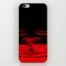 Shockwave Red iPhone & iPod Skin