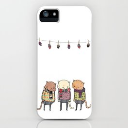 Lost Mittens iPhone Case