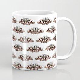 White moths Coffee Mug