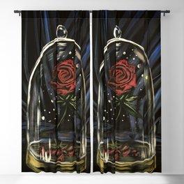 Enchanted Rose Blackout Curtain
