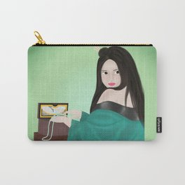 Jade Pearls Carry-All Pouch