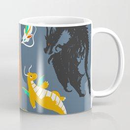 A Flight with Dragons Coffee Mug