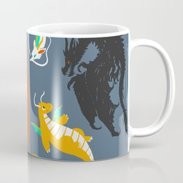 A Flight with Dragons Coffee Mug