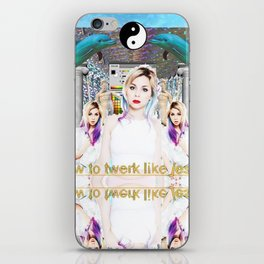 Colette Carr iPhone Skin