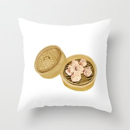 Dim Sum | Shumai | 烧麦 Throw Pillow