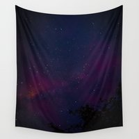 milky way Wall Tapestries featuring Milky Way by Michelle McConnell