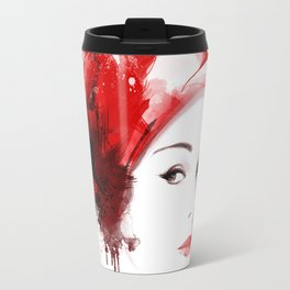 Vogue Fashion Illustration #11 Travel Mug