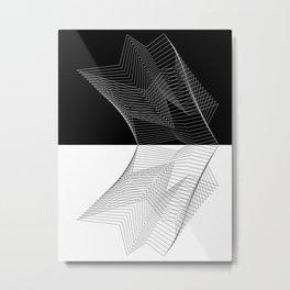 rflct Metal Print