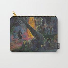 Upa Upa, The Fire Dance - Paul Gauguin Carry-All Pouch