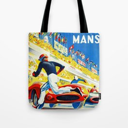 Vintage 1959 le Mans Poster Tote Bag