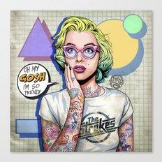 Oh my Gosh, Marilyn Canvas Print