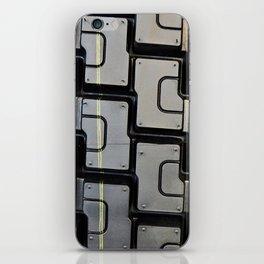Tread pattern on truck tire iPhone Skin