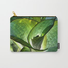 Hosta - Inverted Art Carry-All Pouch