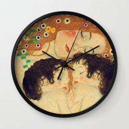 Mi versión de Klimt Wall Clock