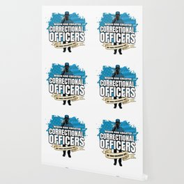 God Created Correctional Officers American Wallpaper