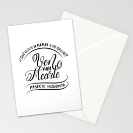 Ven para mearte insecto Stationery Cards