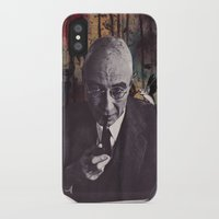 philosophy iPhone & iPod Cases featuring The Philosophy of Composition by Collage Calamity