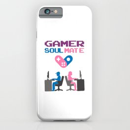 Show your endless infinite love Soulmate T-Shirt Gamer iPhone Case