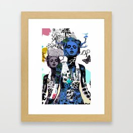 iodio Framed Art Print