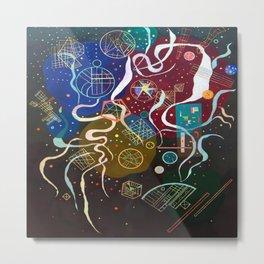 Wassily Kandinsky Movement Metal Print