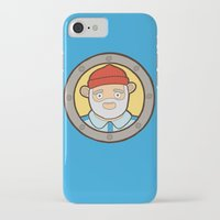 the life aquatic iPhone & iPod Cases featuring The Life Aquatic by evannave