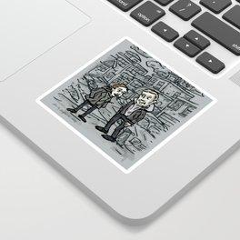 Linden and Holder Sticker