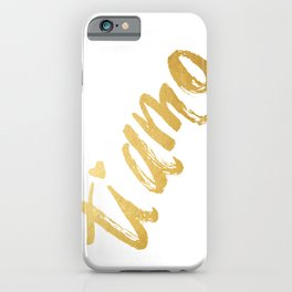 Ti Amo iPhone Case
