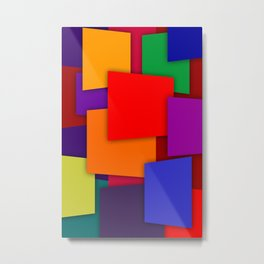 Color Bars #6 Metal Print