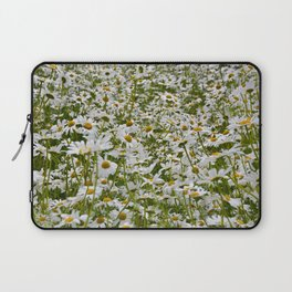 White and Yellow Daisies Laptop Sleeve