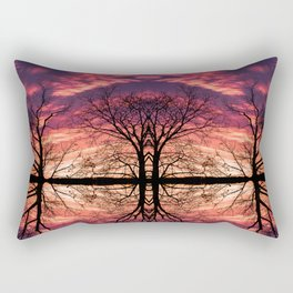 After The Last Leave Falls Rectangular Pillow