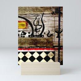 Decipher Slowly Mini Art Print