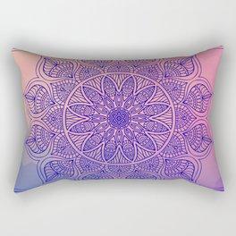 Mild Mandala Rectangular Pillow