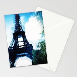 Just Awaking (Paris, Tour de Eiffel) Stationery Cards