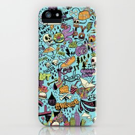 For the love of drawing iPhone Case