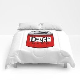 Duff Beer Can Comforters