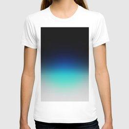 Blue Gray Black Ombre T-shirt