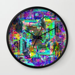 For when the segmentation resounds, abundantly. 01 Wall Clock