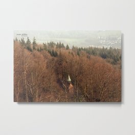 forest photography landscape  Metal Print